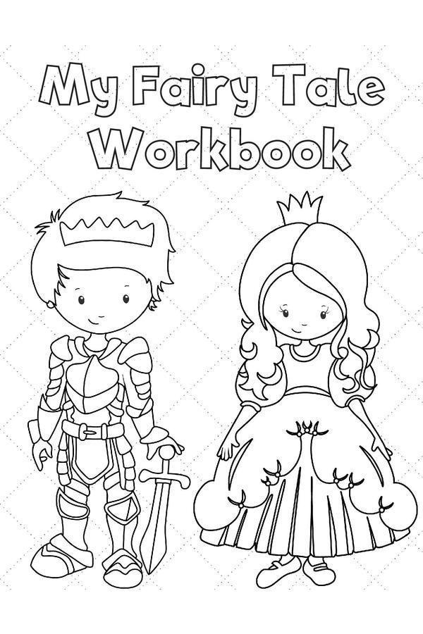 Preschool and Kindergarten Activities: Printable Fairy