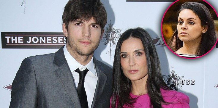 Ashton's Heartbreak! Kutcher Finally Tells All About Divorce From Demi Moore— What Does Pregnant Mila Think? - OK! Magazine