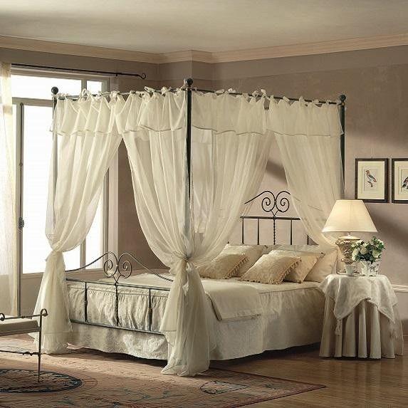 Camera Da Letto Con Baldacchino : Idee su camera da letto con ...