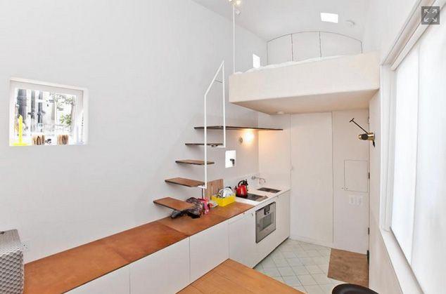 самый маленький в мире дом великобритания лондон Tiny