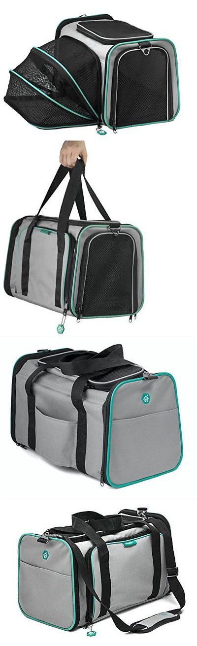 Carriers and Crates 26702: Pawdle Expandable And Foldable Pet Carrier Domestic Airline Approved Heather -> BUY IT NOW ONLY: $44.5 on eBay!