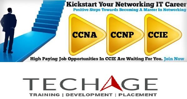 Start your career in Networking with Techage academy NOida.CCNA,CCNP,CCIE,MCITP Industrial Training Training.call for more details:+91-9212063532,+91-9212043532 Visit:- http://www.techageacademy.com/courses/networking-training/