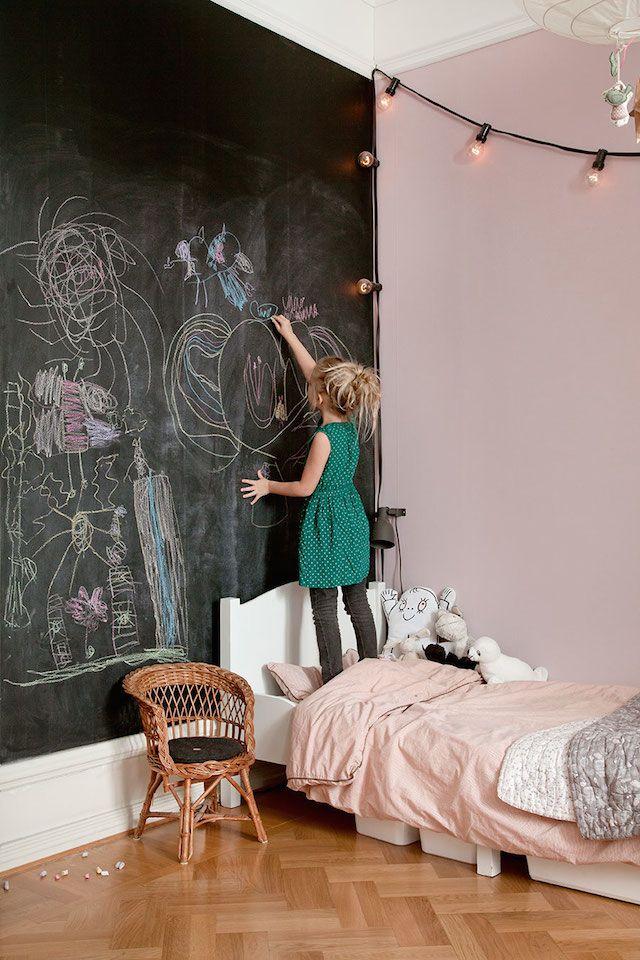 Un appartement bohème et vivant à Malmö