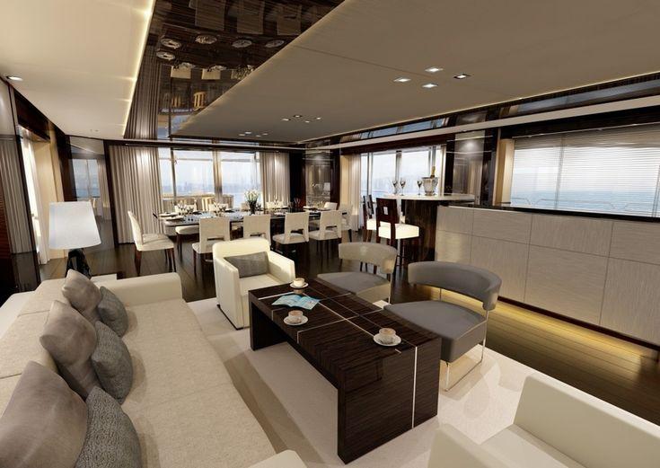 Best 25 Luxury Yacht Interior Ideas On Pinterest Yachts