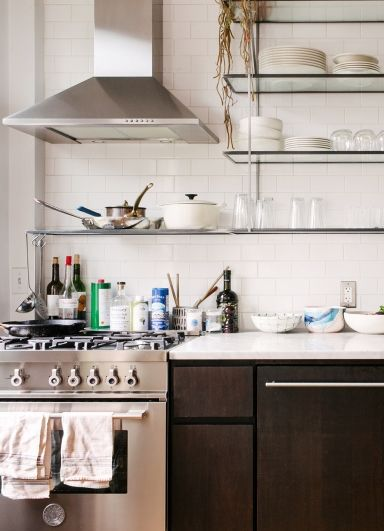 Fort Greene Apartment Tours Primary Essentials Boutique Stove Small Kitchens And Design