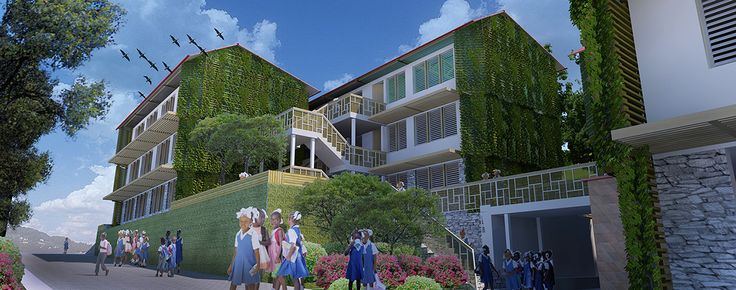 Centre Rosalie Javouhey Streetview Render © 2011 - 2013 Thinking Development