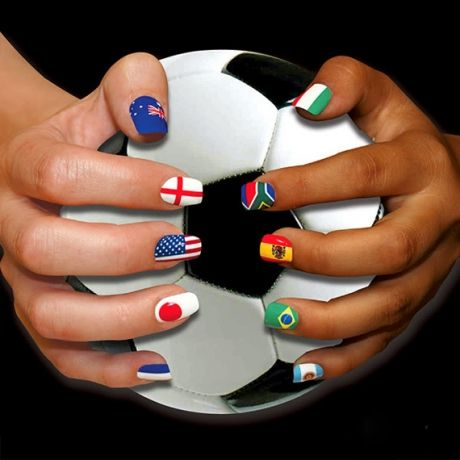 Slideshow: Olympic Inspired Nail Art