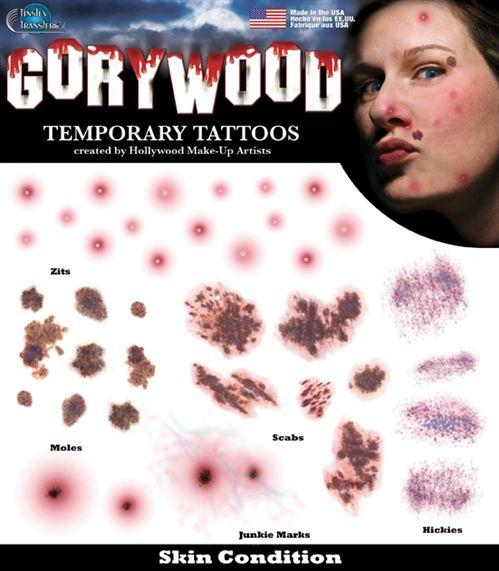 how to create a fake tattoo