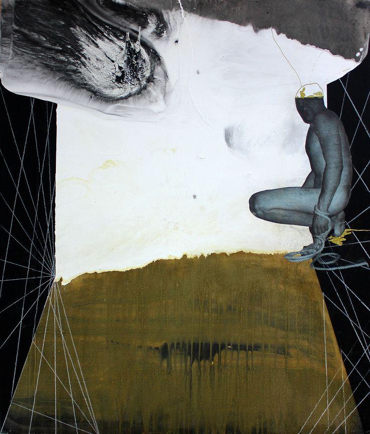 Type by Özgür Çağlar Yılmaz  Tuval üzerine Karışık Teknik / Mixed Media on Canvas 80cm x 100cm  #gallerymak #sanat #ig_sanat #instaart #resim #tablo #modernsanat #soyut #dışavurum #zaman #felsefe #oilpainting #mixedmedia #renk #gününkaresi #gununfotografi #müze #sergi #artgallery #contemporaryart #abstractart #abstract