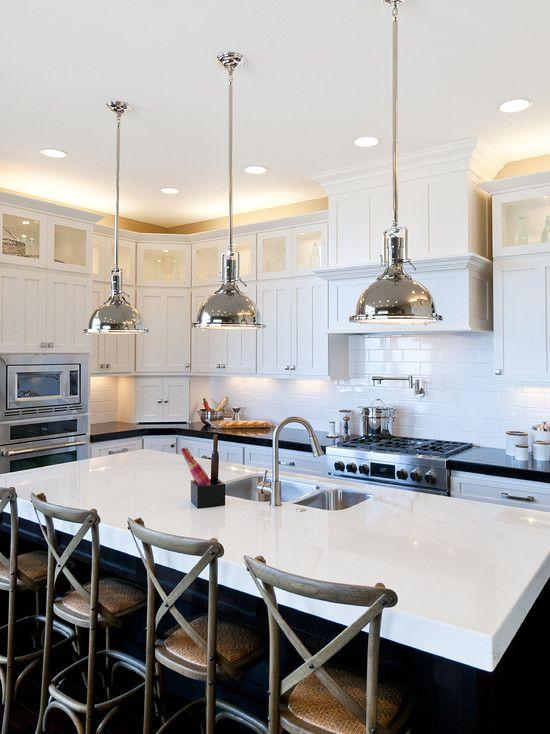 50 Best Pendant Lights Over Kitchen Islands Images On Pinterest Prepossessing Kitchen Pendant Lights Images Design Inspiration