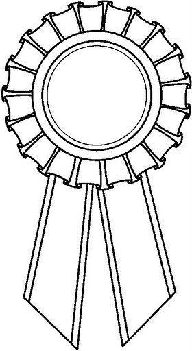 dibujo para colorear medalla premio - Buscar con Google