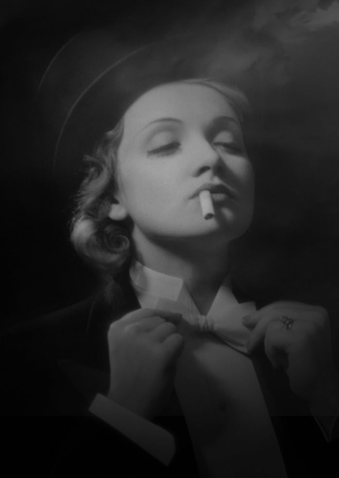 'I had no desire to be a film actress, to always play somebody else, to be beautiful with somebody constantly straightening out your every eyelash. It was always a big bother to me.' - Marlene Dietrich.