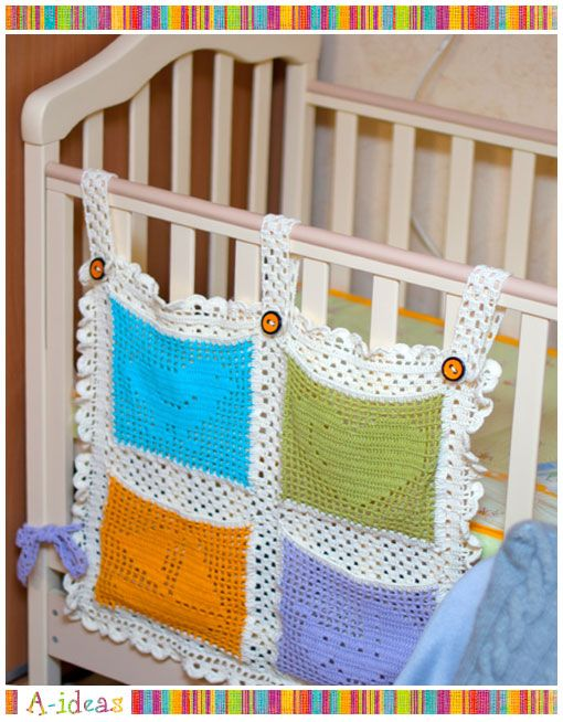 Pockets for baby's room