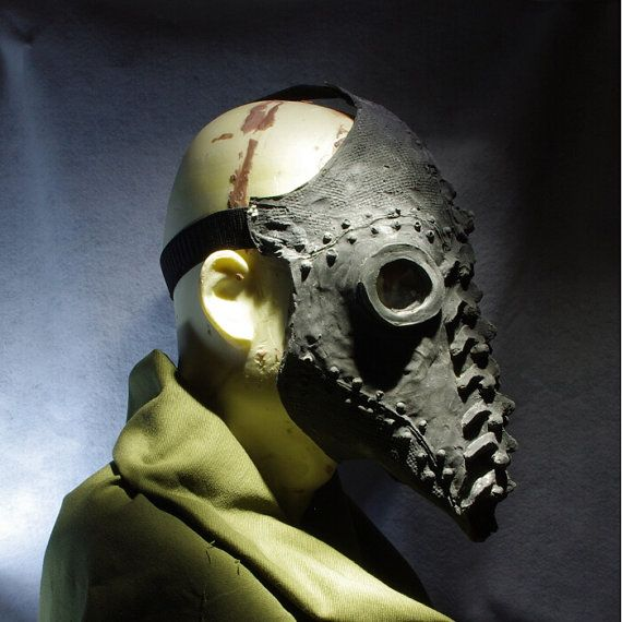 Plague Doctor Mask in Latex by hotworks on Etsy, $35.00