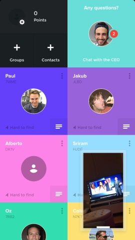 Tribe - Video messaging - Faster than texting, easier than live video and phone calls. Screenshots