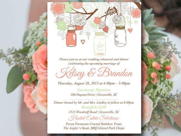 The 25+ best Dinner invitation template ideas on Pinterest - bridal shower invitation templates download