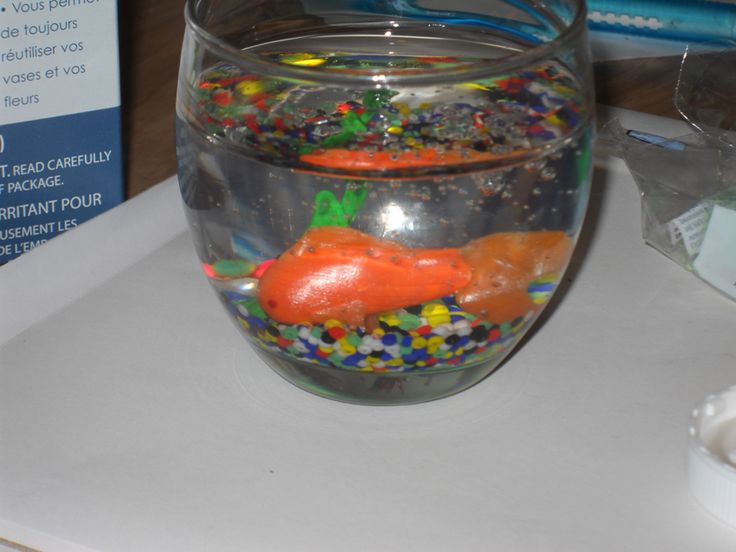 Does your doll want a pet fish? Check out this guide to making your own mini fish in a bowl.