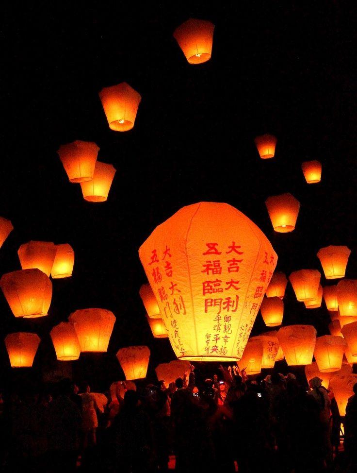 Pingxi Sky Lantern Festival Taiwan 61