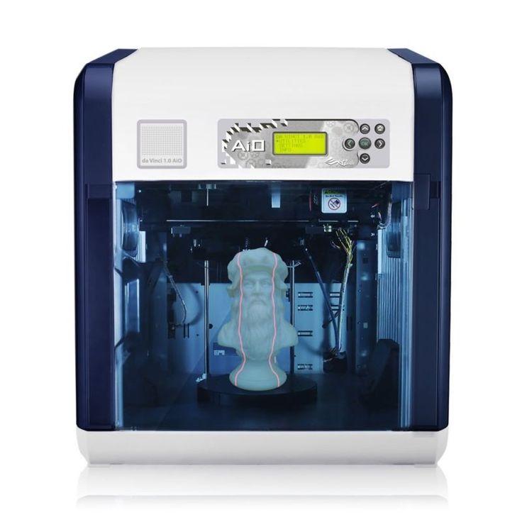 XYZ Printing - Da Vinci 1.0 AiO All-in-One 3D Printer (Scan/Edit/Print) - Great Deal on Open Box Returns in Perfect Working Order #edit #print #scan #printer #vinci #printing