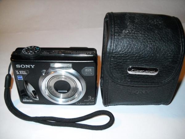 Цифровой фотоаппарат SONY DSC — W 5.