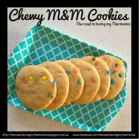 The road to loving my Thermomix: Chewy MM Cookies