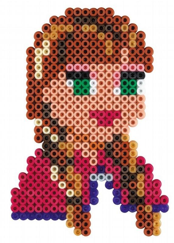 Princess Anna - Disney Frozen Gift Set Hama Beads 7957