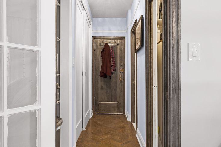 Believe it or not, this bedroom is part of a small studio. Now it's a peaceful retreat thanks to a serious closet renovation.