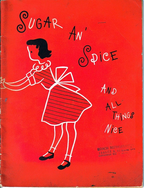Vintage Sugar An Spice Children's Cookbook by antiquesgaloregal, via Flickr