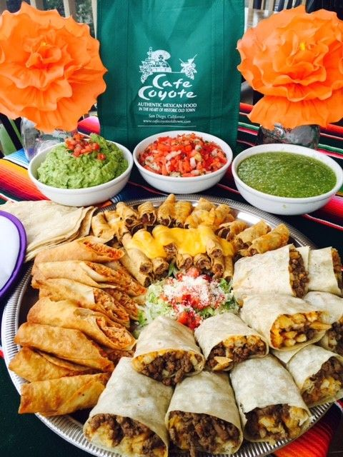 Fiestas To Go From Cafe Coyote Best Mexican Restaurants Old Town San