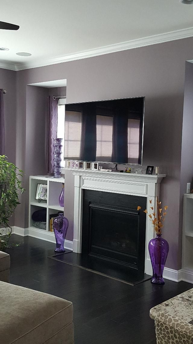 Autumn orchid paint color sw 9157 by sherwin williams for Sherwin williams interior paint colors
