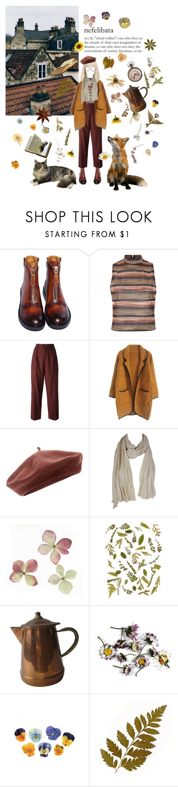 """""""cloud-walker"""" by coffee-and-jazz ❤ liked on Polyvore featuring Dr. Martens, New Look, Yves Saint Laurent, Accessorize, American Vintage and vintage"""