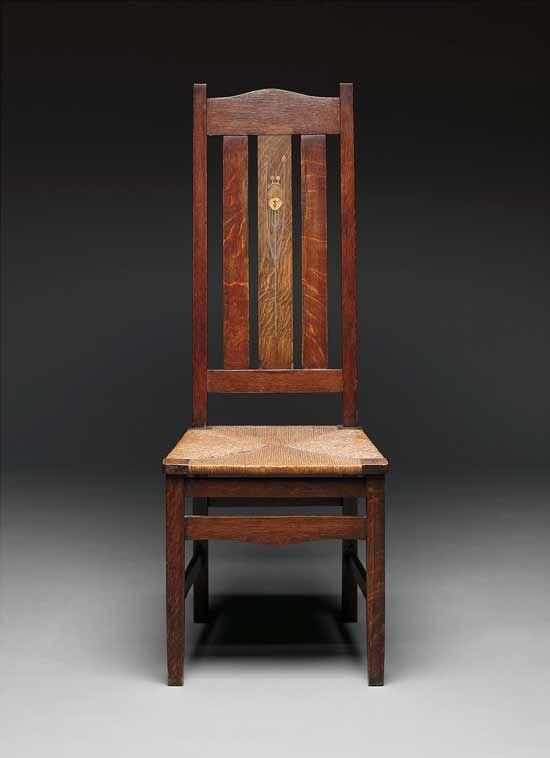 Stickley Side Chair, Designed c. - 215 Best Gustav Stickley Images On Pinterest Craftsman Style