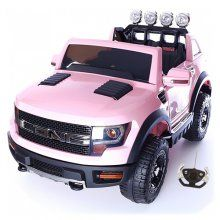 Big 12v Pink Jeep for Girls with style