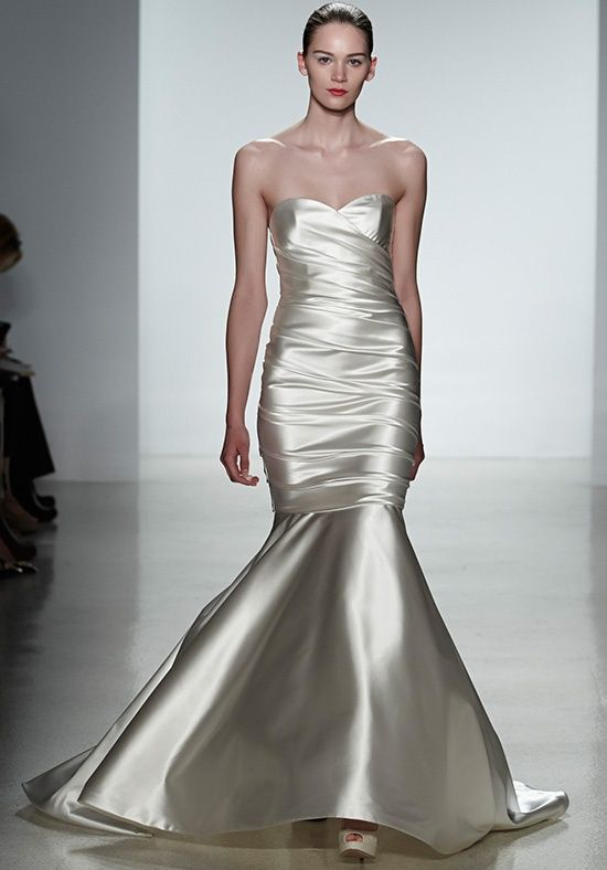 Kenneth Pool wedding gown Style:  ANTONIA $3,900  I would definitely wear this, with a beaded belt for sparkly bling.
