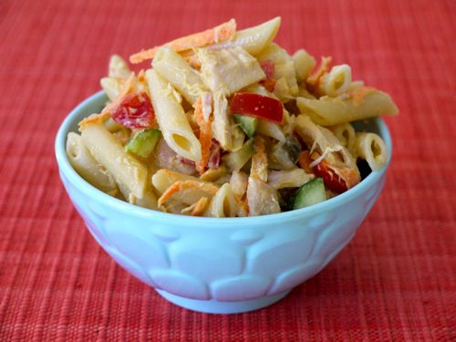 This tuna pasta salad, from our friend Catherine McCord at Weelicious, is fast, easy, and delicious! It's a tasty meal that your kids won't say no to. And neither will you.