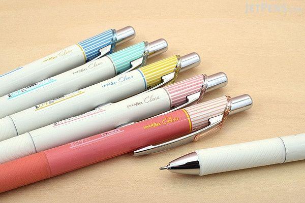 Pentel EnerGel Clena Gel Pen - 0.3 mm - Red Ink - Red Body - PENTEL BLN73L-B