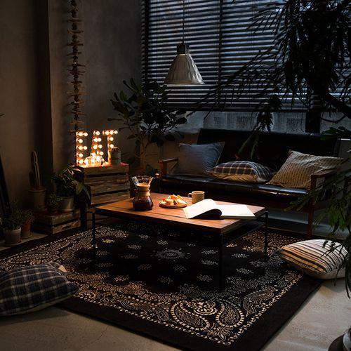 ラグマット Paisley Bandanna Rug|家具・インテリア通販 Re:CENO【リセノ】