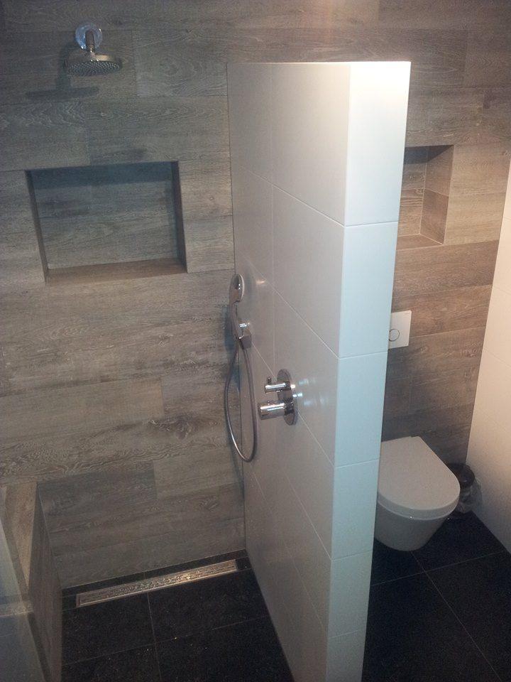 Voorbeeld van een gerealiseerde badkamer en toilet door sanidrome van lieshout uit veghel - Voorbeeld badkamer italiaanse douche ...