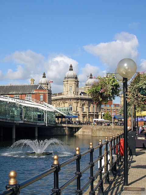 Princes Quay, Hull, Yorkshire, England Hull gets a very unfair name for being dull and dreary. I found it vibrant and beautiful. From the impressive bridge to the Quay.