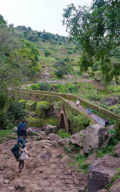 Visiting The Blue Nile Falls In Ethiopia - Backpackingman