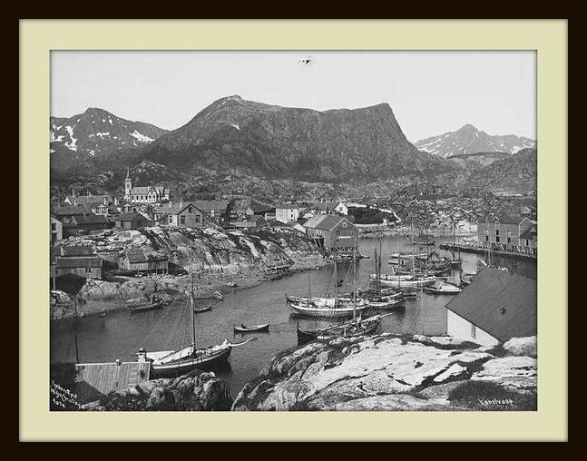 Kabelvåg 1905.  http://lofotbilder.origo.no/ by Roy A.G.