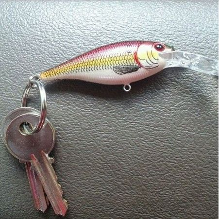 Cool idea for fishermen