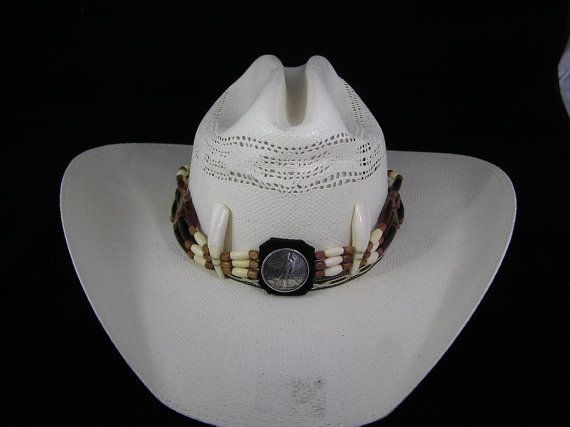 27 best Beaded hat bands images on Pinterest | Beaded hat ...