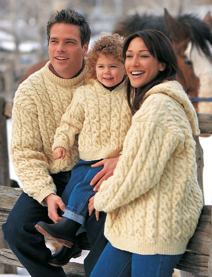 Yarnspirations.com - Patons Family Cables - Patterns  | Yarnspirations Oh man, I wish I could still knit..............