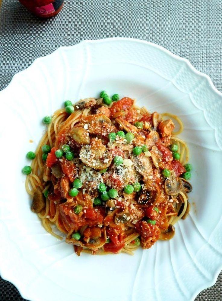 旬のグリンピースでチョチャリア風スパゲッティ by 優子   レシピサイト「Nadia   ナディア」プロの料理を無料で検索
