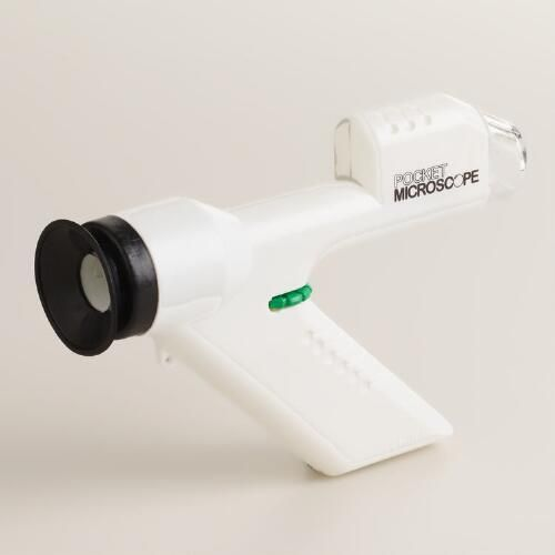 One of my favorite discoveries at WorldMarket.com: Pocket Microscope