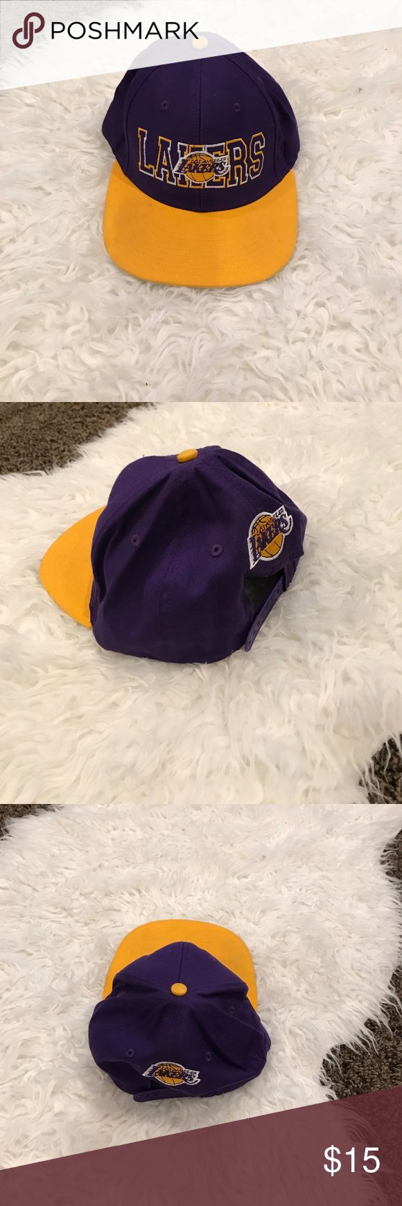 Lakers cap. Laker cap. Very stylish. Get it soon before its gone. Accessories Hats