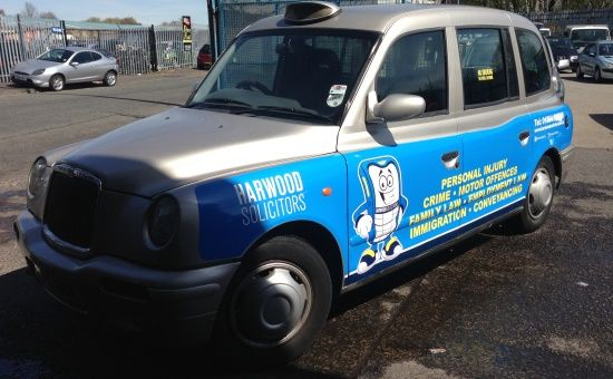 Blackburn Taxi Advertising