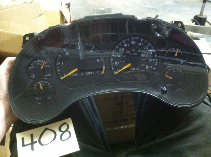 Df A D Abed on 1993 Chevy S10 Gauges