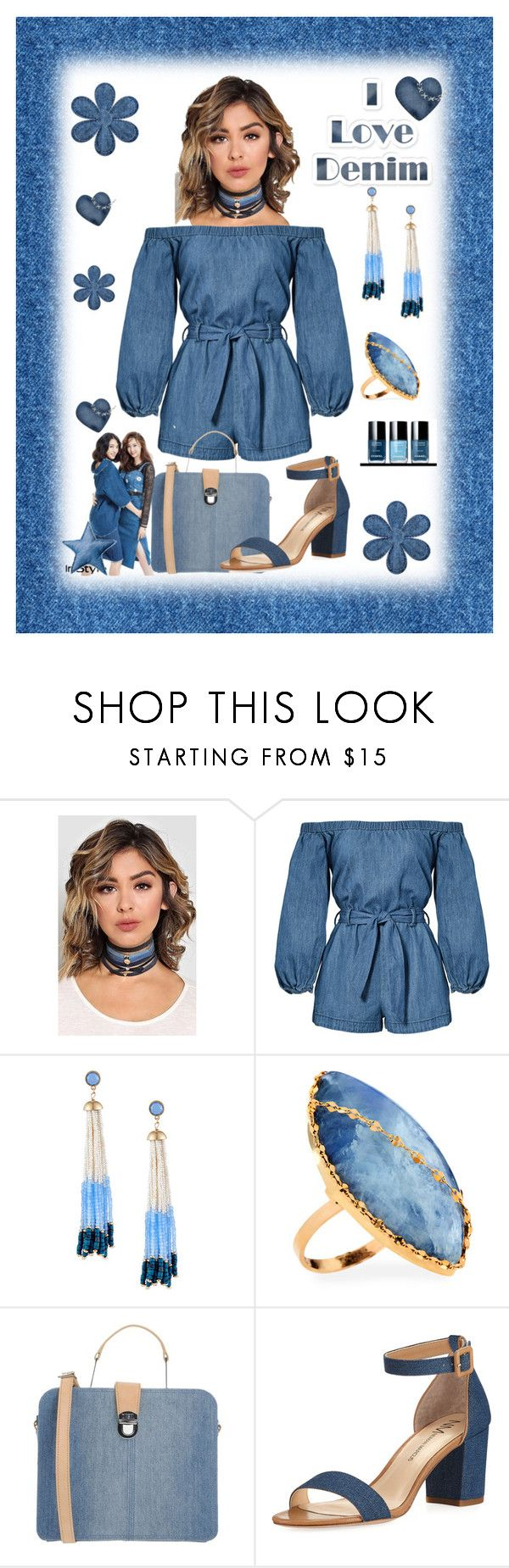 I Love Denim by marlaj-50 on Polyvore featuring Neiman Marcus, Diesel, Lana, Lydell NYC and Bloomingville